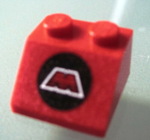 LEGO 3039p68 @@ Slope 45 2 x 2 with MTron Logo Pattern @@ 6862 6923 6956