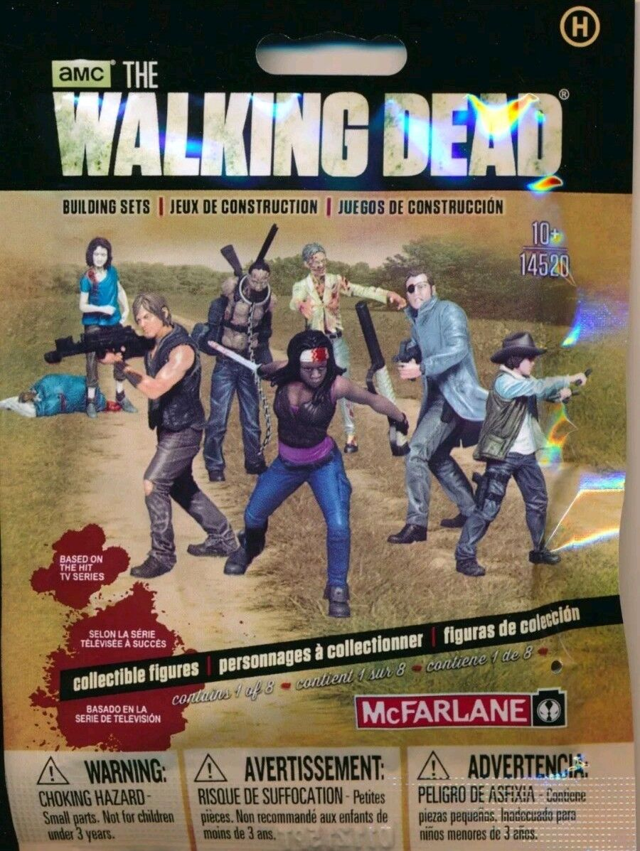 10x The Walking Dead TV Series Building Construction Set Season Series 1 Pack
