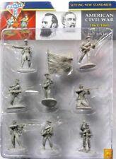 Conte Collectibles American Civil War Union Plastic Figures 54mm Soldiers Set 1