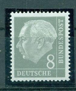 Bund, Heuss I, Nr. 182 y II ** postfrisch