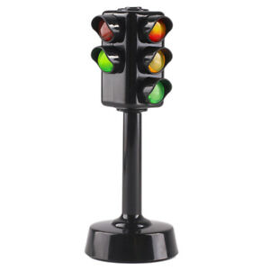 Educational-Traffic-Lights-Signal-Kids-Children-Learn-Toy-Crosswalk-New