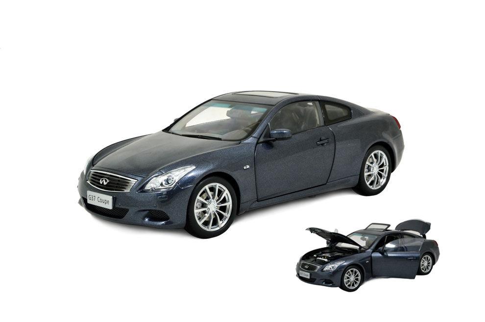 1 18 Scale Infiniti G37 Coupe 2013 blu Diecast Model Car