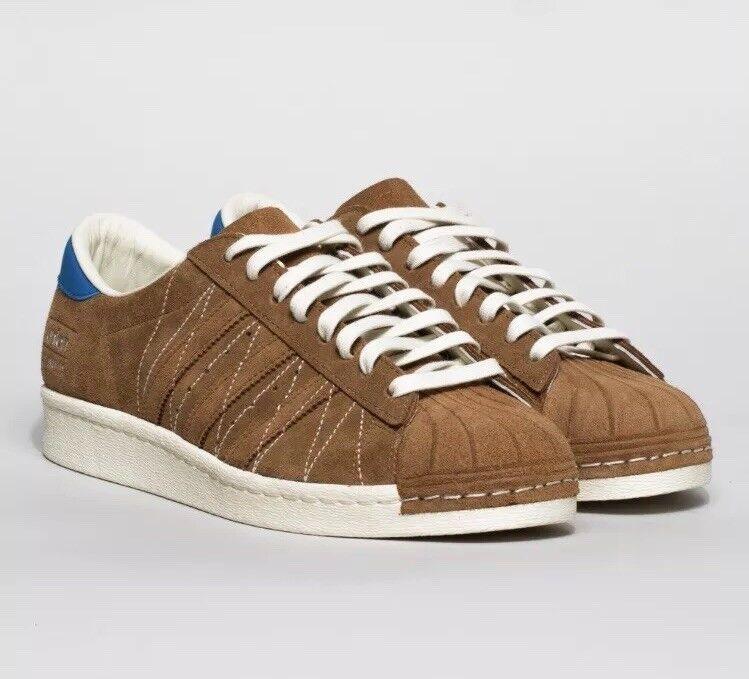 Adidas Consortium UNION Superstar années 80 10th anniversaire UK 9 quartier FP-