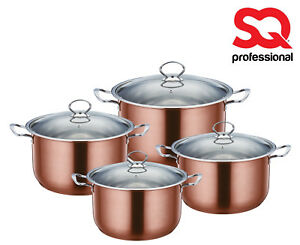 4pc-Large-Stockpot-Set-Induction-Stainless-Steel-Deep-Casserole-Cooking-Pot-Pan
