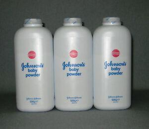 Zielsetzung 3 X Johnson`s Puder Schütz Mild Vor Reiben Und Scheuern Baby Powder 1500 G