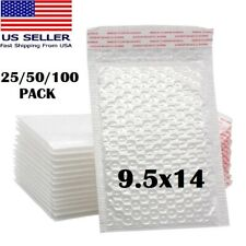 12550pcs 95x14 White Self Seal Poly Padded Bubble Mailers Envelopes