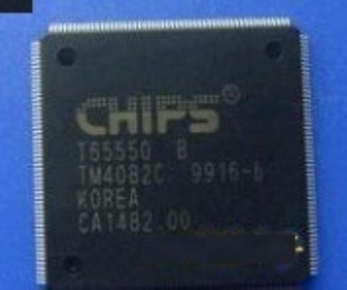 CHIPS T65550B Quad Flat Package 17 caractéristiques électriques Chip