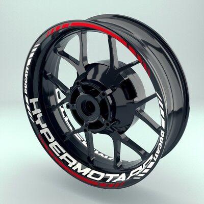 100% Waar Felgenaufkleber Motorrad Felgenrandaufkleber Wheelsticker Ducati_hypermotard