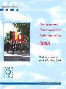 Allemand Et Autrichien Philatelistentag 2006, Bad Reichenhall-er Philatelistentag 2006, Bad Reichenhallafficher Le Titre D'origine