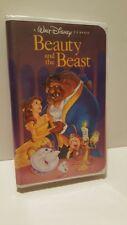 "~ Walt Disney's ""Beauty and The Beast"" (VHS,1992) Black Diamond ""The Classics"" ~"