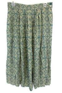 ae568ba14 Jones New York Long A Line Pleated Skirt Green Gold Floral Women's ...