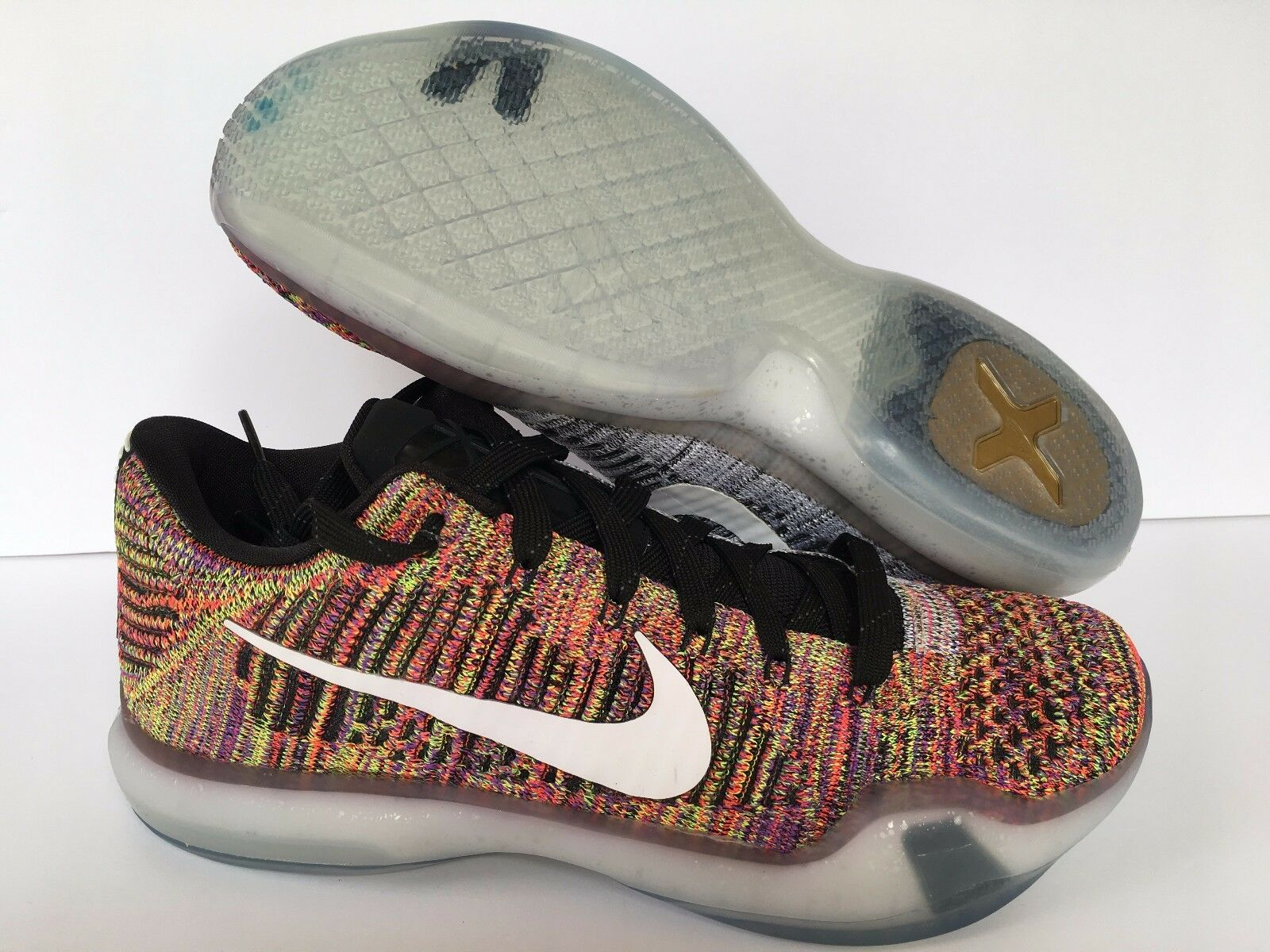 Nike Kobe X Elite Low iD Multi-Color 802817-903 Men's Sz 11 New