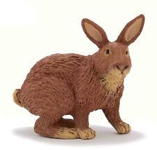 Papo 51049 Brown and Tan Rabbit Model Farm Animal Figurine Pet Toy - NIP