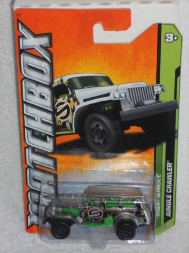Matchbox 2012 MBX Jungle Series 3//10 Jungle Crawler Unpainted Zamac /& Green