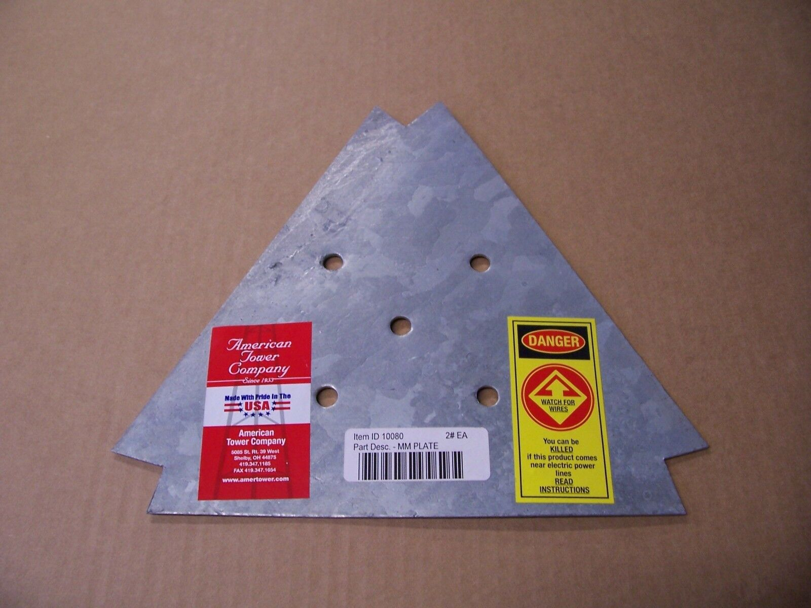 AMERICAN TOWER- SPECIAL SERIES MOTOR MOUNT PLATE. Buy it now for 21.06