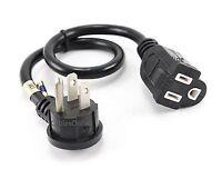 18 Flat Plug Power Extension Cord/saver, 16awg Sjt Nema 5-15p/5-15r, Pc-s0418