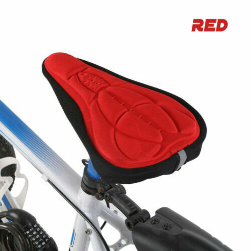 Bike Bicycle Saddle Seat Cover New Extra Soft Gel Comfort Pad Cushion For Gym AU