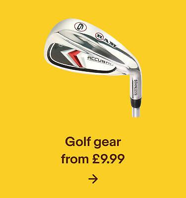 Golf gear from £9.99