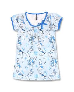 Liquor-Brand-Damen-AHOI-SAILOR-T-Shirts-Oldschool-Tattoo-Pin-up-Custom-Biker-Sty