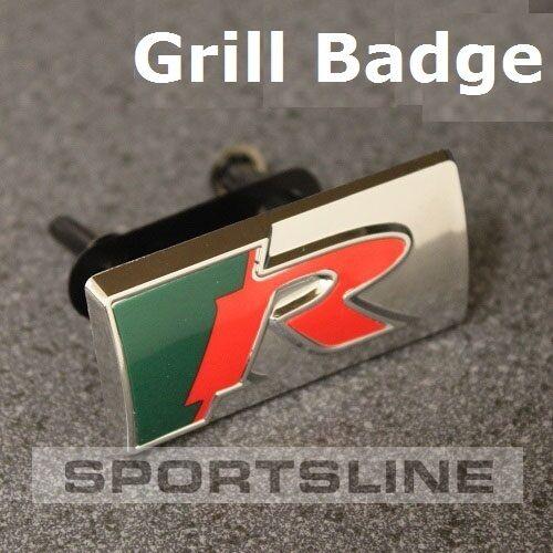 Grill R Sport Insignia Emblema Etiqueta con logotipo XKR XK8 XFR XJ XF XK XR xe XS XJR XJS T41g