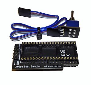 Neu-Premium-Stiefel-Waehlschalter-DF0-DF1-Signal-SEL0-Von-SEL1-Amiga-500-GBA1000