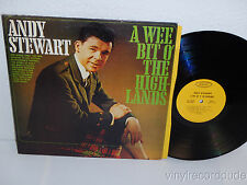 ANDY STEWART A Wee Bit o' The Highlands LP Epic LF 18038 Scottish Scotland Folk