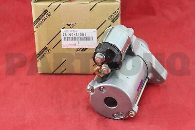 2810031081 Genuine Toyota STARTER ASSY 28100-31081 | eBay