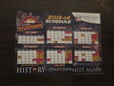 SPHL Peoria Rivermen 2013-14 Season Magnet Schedule