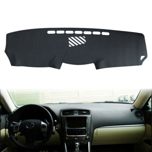 Leather Dashboard Dashmat Sun Cover Mat Pad For Lexus IS250 IS350 2006-2011 LHD