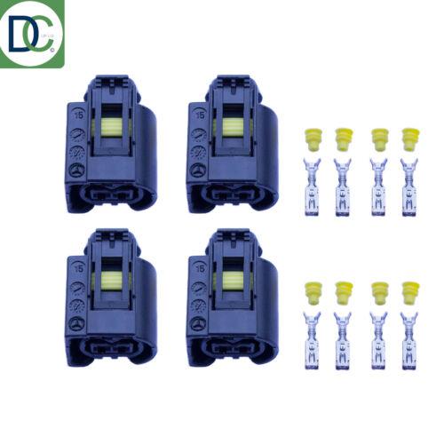 4 x Iniettore Diesel Genuine Connettore a Spina per Ford Galaxy SIEMENS COMMON RAIL