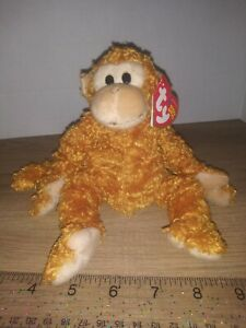 Ty Beanie Baby - FUMBLES the Monkey (8 Inch) MWMT