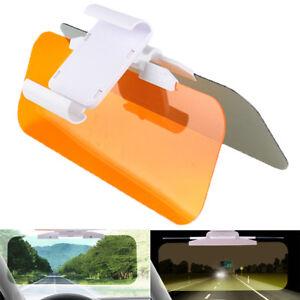 Interior Parts 2 In 1 Car Sun Visor Hd Anti Glare Dazzling Goggle Uv Blocker Day Night Vision Clear View Driving Mirror