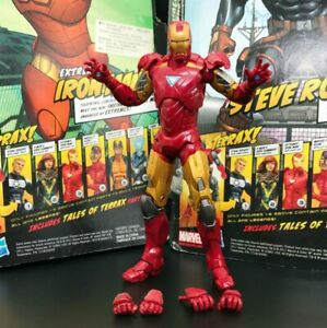 Marvel-Legends-The-Avengers-Iron-Man-MK-6-Armor-6-034-Action-Figure-Loose