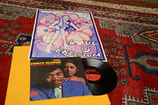 PERCY SLEDGE LP TAKE TIME..1°ST ORIG ITALY 1968 WITH POSTER TOP RARE !!!!!!!!!!