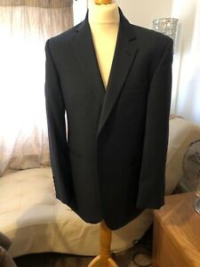 Austin Reed 42r Blue Jacket 100 Pure Wool Suit Jacket Full Suit Available 102 Ebay
