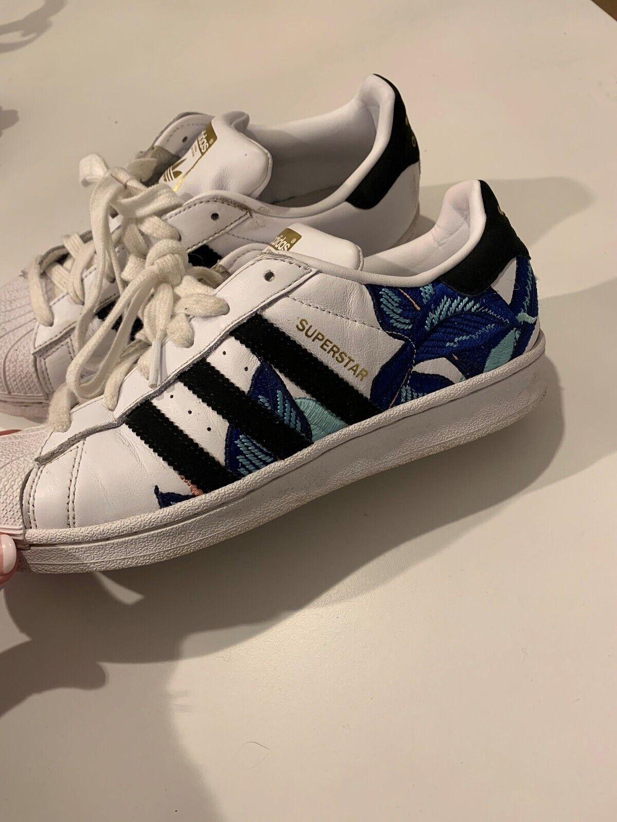 adidas Superstar Dame Hvid b28014