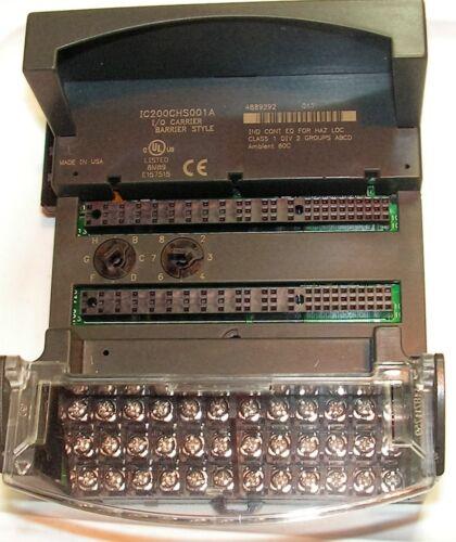 GE-Fanuc VersaMax IC200CHS001A PLC Module Carrier