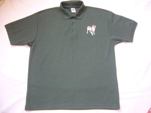 POLO Shirt con Motivo Springer NUOVO SHOOTING CACCIA