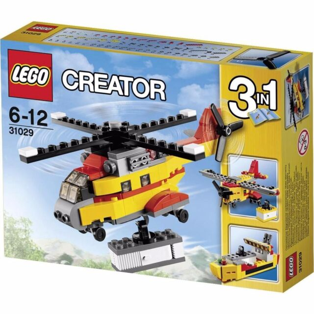 LEGO 31029 Creator 3 in 1 Cargo Heli Helicopter Brand new in box BNIB (#1251)