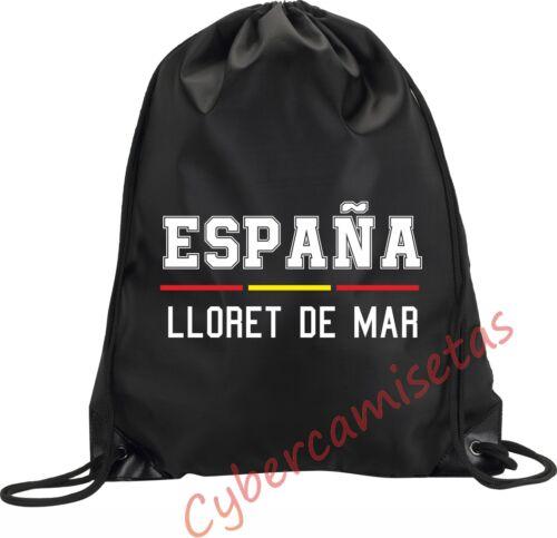 RUCKSACK BEUTEL SACK LLORET DE MAR TASCHE TURNBEUTEL SPORT SPANIEN M1