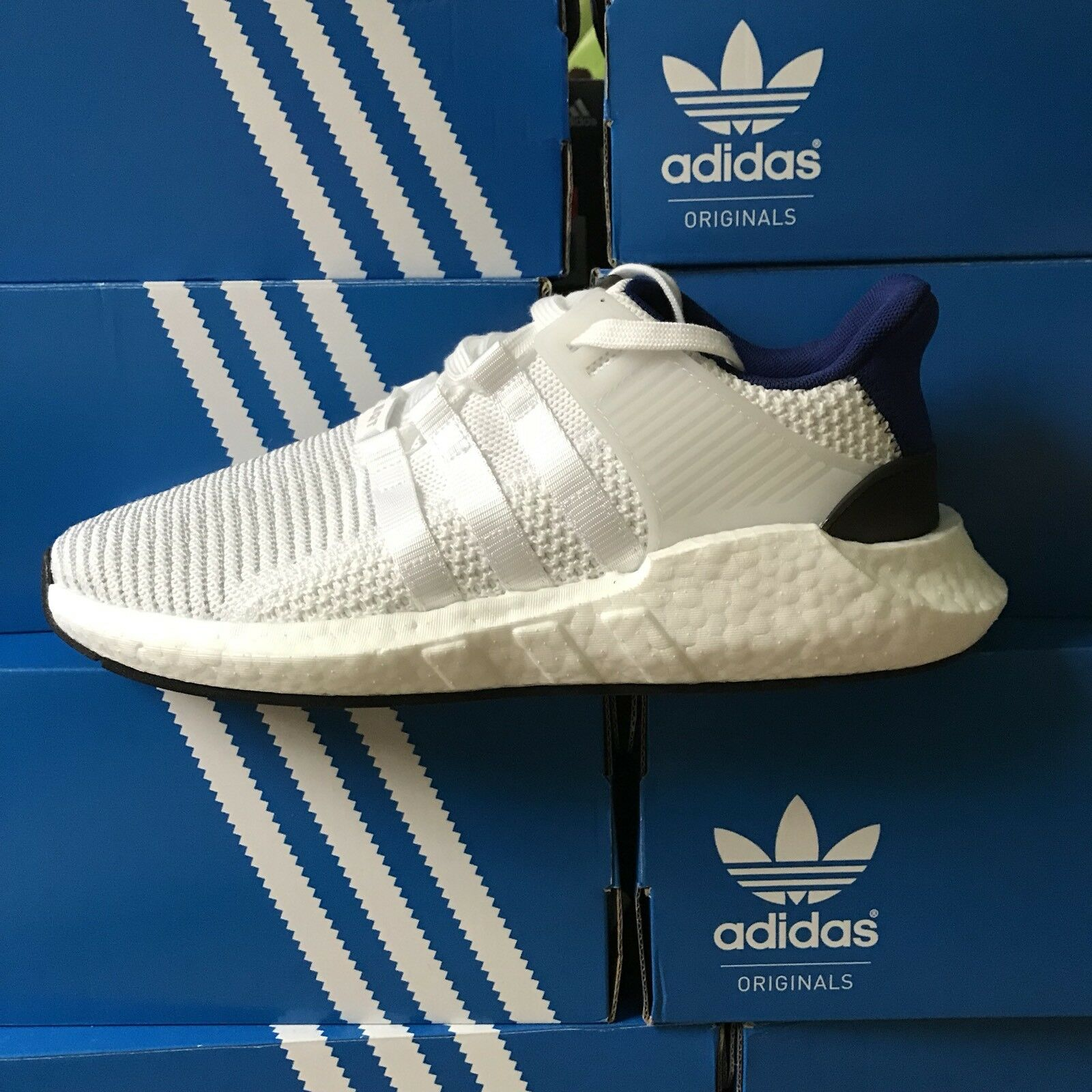132346011 Adidas EQT Support 93 17 Boost Size Size Size 8 Royal Blue White Running  Shoes