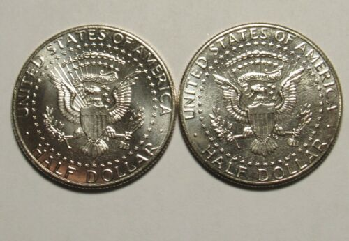 2020 P/&D Kennedy Half Dollars in BU Condition