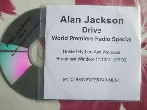 Alan-Jackson-Drive-BMG-Entertainment-World-Premiere-Radio-UK-Promo-CD-Single