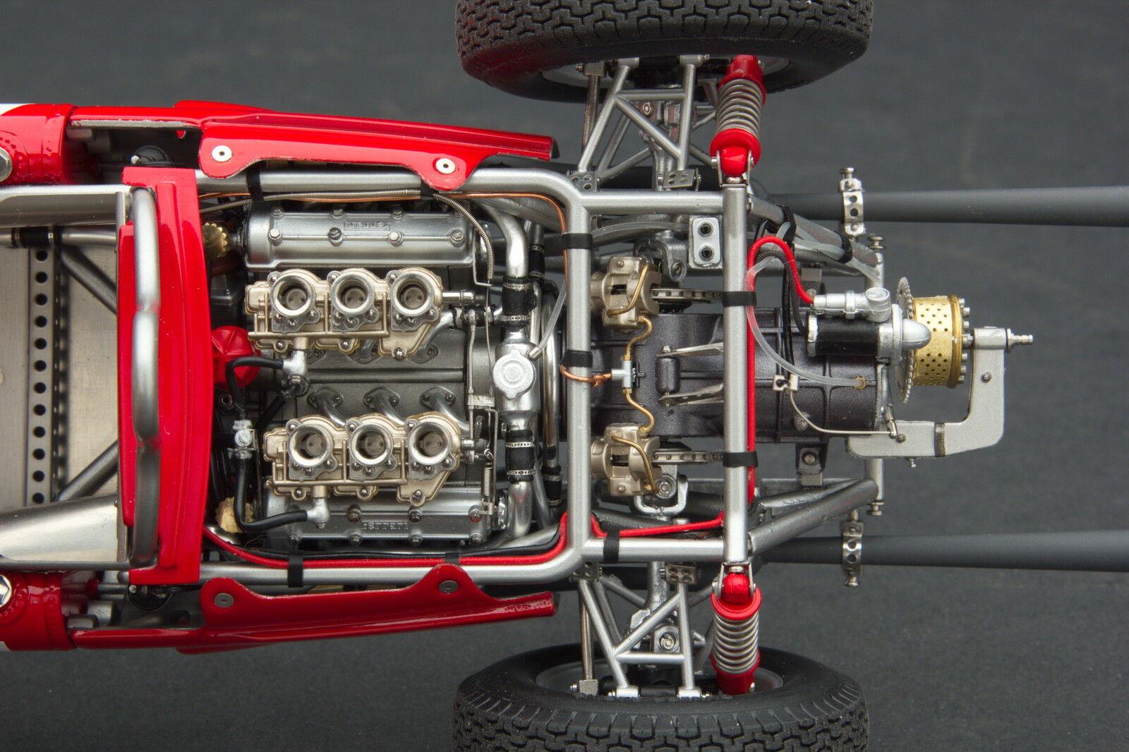 Exoto XS 1 18 1961 1961 1961 Ferrari Dino 156 120 Phil Hügel 1. Monza  Gpc97204  | Verschiedene Stile  b300f2