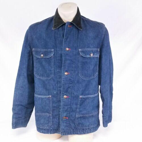 Vintage Penneys Pay Day Chore Jacket Denim Coat 50
