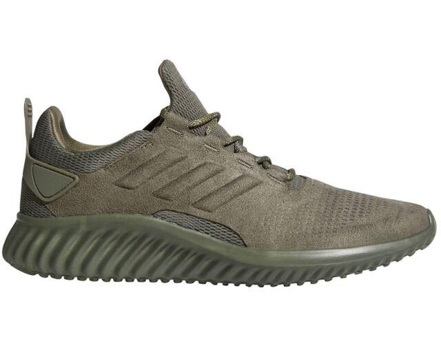 9b20b94e4e1ed Adidas Alphabounce CR Mens CG4572 Base Green ForgedMesh Running Shoes Size  10.5