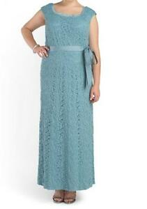 79dedb141a542 R M Richards Lace Dress Gown Women s Mother of Bride Groom party ...