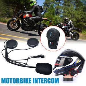 Interphone-Intercom-Casque-Helmet-Bluetooth-walkie-Pour-Moto-Motorcycle-500M