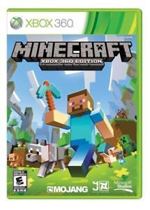 Details about Minecraft Xbox 360 Edition [Microsoft Xbox One 360 Online  Sandbox Adventure] NEW