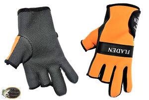 Handschuh Angeln FLADEN Neopren-Handschuh Thermo Gloves Anglerhandschuhe